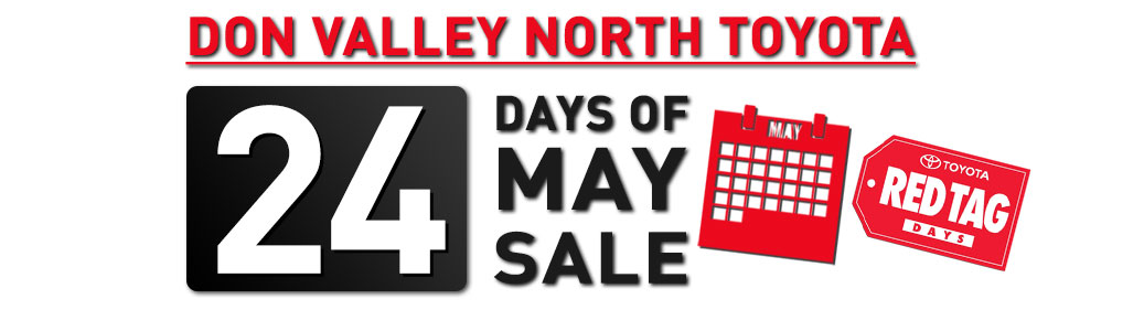 24 Days of May Sale